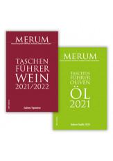 Kombi Taschenführer Wein 2021/2022 und Olivenöl 2021 (PRINT)