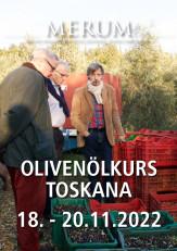 Olivenölkurs Toskana 18. - 20. November 2022