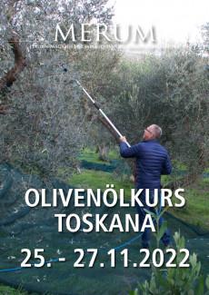 Olivenölkurs Toskana 25. - 27. November 2022