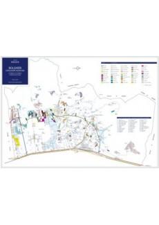 Cartina Masnaghetti - Bolgheri/Sassicaia